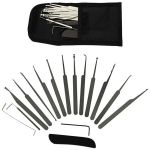 17 PC Professional Lock Pick Set w/ Case