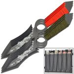 6 PC Dragon Throwing Knife Set
