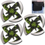 BIOHAZARD 3PC Throwing Star Set