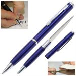 Blue Letter Opener Pen Knife