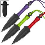 Eclipse 3 PC Throwing Knife Set