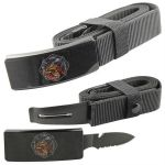 Fire Dept Belt Buckle Knife