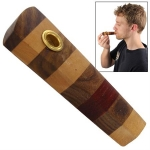 Jamaican Style Miniature Wood Pipe