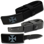 Iron Cross Belt Buckle Knife