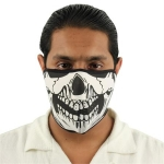 Skull Half Neoprene Face Mask