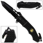 Tactical Police Spring Assisted Knife