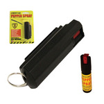 Cheetah Pepper Spray 1/2 oz. Hardshell Keyring
